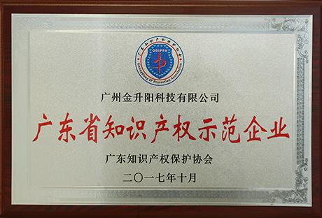 2017广东省知识产权示范企业